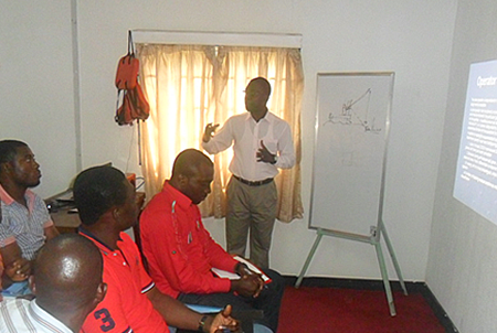 Training section for Oil and Gas companies