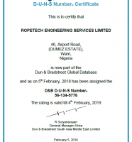Lifting Equipment Engineers Association – Membership Certificate